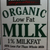 Organic Lowfat Milk