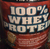 Whey Protein Cookies  Cream