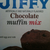 Jiffy Chocolate Muffins