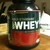 Whey Protein Mixed With Skim Milk