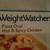 Weight Watchers Pizza Oval Spicy Chicken