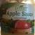 Organic Applesauce