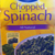 Chopped Spinach Pieces