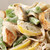 Chicken Fettuccine Alfredo with Vegetables