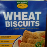 Calories in wheat biscuits