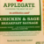 Applegate Chicken Sage Breakfast Sausage