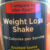 Equaline Weight Loss Shake