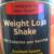 Equaline Weight Loss Shake