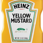 heinz label template - heinz yellow mustard calories and nutrition facts
