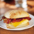 Bacon and Gouda Artisan Breakfast Sandwich