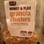 Honey and Flax Granola Clusters