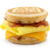 Bacon egg and cheese McGridle