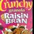 Crunchy Granola Raisin Bran